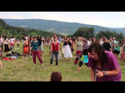 Africké tance - Bakuruba (pôvodne Babyluzaru) - Letná slávnosť na sekierskych lúkach - Zaježová 2014